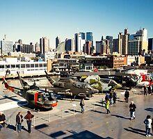 Chopper Cityscape  by Rob Hawkins