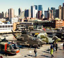 Chopper Cityscape  Sticker