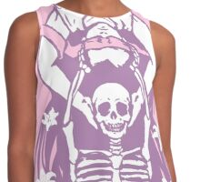 Life and Death in Pink Contrast Tank