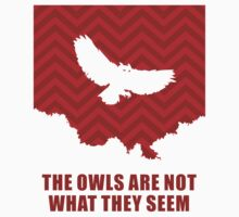 The Owls Are Not What They Seem Kids Tee