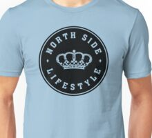 Northside Black Royal Crown Unisex T-Shirt