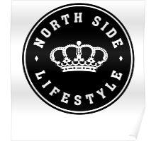 Northside Black Royal Crown Poster