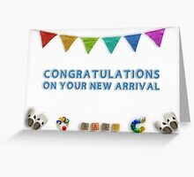 Congratulations on your new arrival 03 Greeting Card
