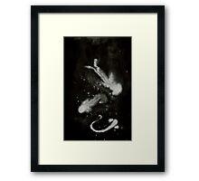 0105 - Brush and Ink - K Framed Print