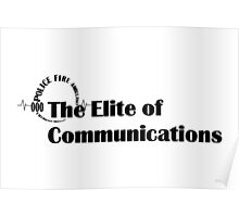 000 Emergency Operator 5 - The Elite of Communications Black Print Poster