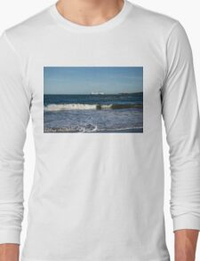 Your Viking Ride - NorthLink Ferry Leaving Aberdeen Harbour Long Sleeve T-Shirt