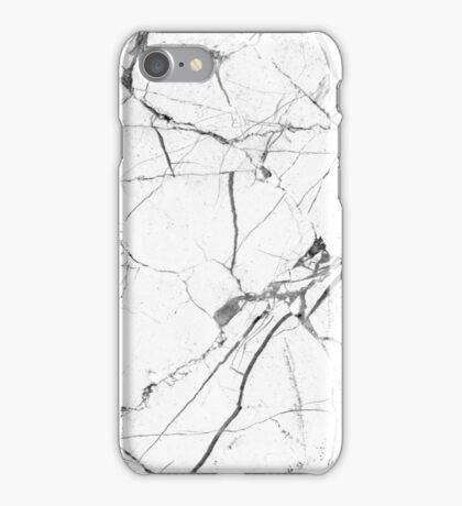 White Marble iPhone Case/Skin