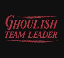 Ghoulish team leader by jazzydevil