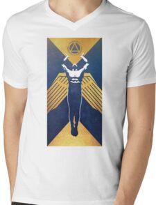 Red Rising - Gold Propaganda  Mens V-Neck T-Shirt