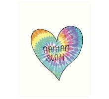 I Heart Nathan Scott - One Tree Hill Art Print