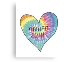 I Heart Nathan Scott - One Tree Hill Canvas Print