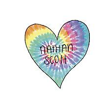 I Heart Nathan Scott - One Tree Hill Photographic Print