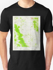 USGS TOPO Map Arkansas AR Haynes 258700 1958 24000 Unisex T-Shirt