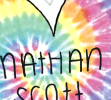 I Heart Nathan Scott - One Tree Hill Sticker