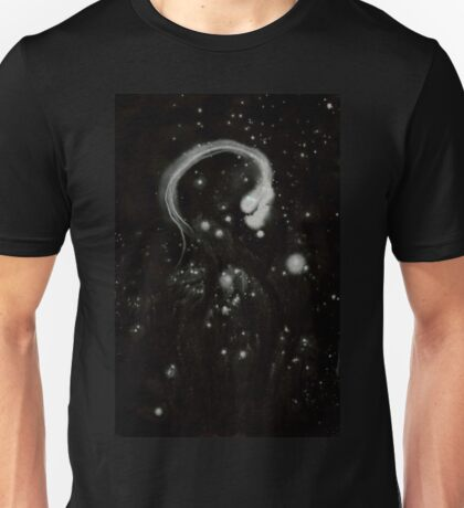 0107 - Brush and Ink - The Eye on Hunger's Tongue Unisex T-Shirt
