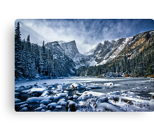 Dream Lake Pano Canvas Print