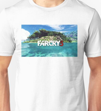 FARCRY GAME 3 TOURS 1  Unisex T-Shirt