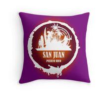 Nice Evening San Juan Throw Pillow
