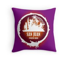Nice Evening San Juan Throw Pillow