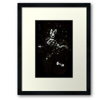 0106 - Brush and Ink - Dog's Watch Framed Print
