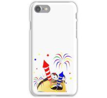 Happy Diwali Rockets In The Sky Colorful TShirt. iPhone Case/Skin