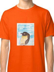 Watercolor Penguin Classic T-Shirt
