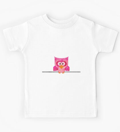 Owl on a Wire Kids Tee