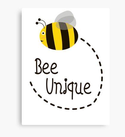 Bee Unique Canvas Print