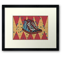 Funky shoes Framed Print