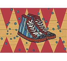 Funky shoes Photographic Print