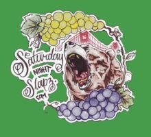 Saturday Night Slapz Logo Baby Tee