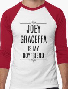 My Boyfriend is Joey Graceffa Men's Baseball ¾ T-Shirt
