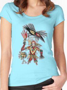 crow bruxa Women's Fitted Scoop T-Shirt