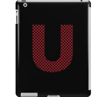 U Red Lines iPad Case/Skin