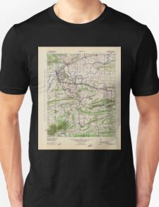 USGS TOPO Map Arkansas AR Fort Smith 260486 1943 125000 Unisex T-Shirt