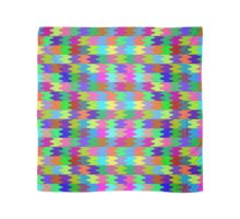 Squers 2 color  - Digital Background - Wallpaper Scarf