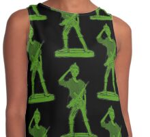 Barbie Toy Soldier! Contrast Tank