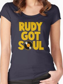 RUDY GOT SOUL Women's Fitted Scoop T-Shirt