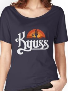 Kyuss Black Tshirt Women's Relaxed Fit T-Shirt