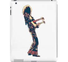 hope art double guitar rock and roll legend iPad Case/Skin