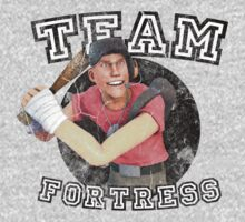 Team Fortress 2 Scout College Sports Design by Daniel J. Carville