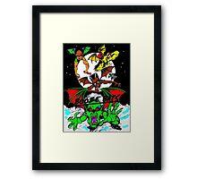 BOOZE BATS Framed Print