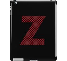 Z Red Lines iPad Case/Skin