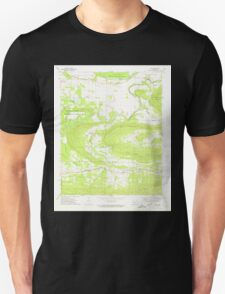 USGS TOPO Map Arkansas AR Casa 258139 1972 24000 Unisex T-Shirt