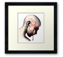 Cannibal Head Framed Print