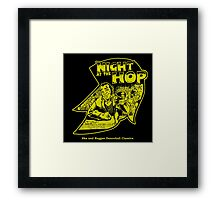 NIGHT AT THE HOP Framed Print