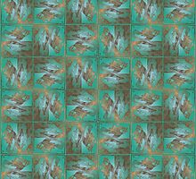 Pisces pattern by Roberta Angiolani
