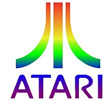 Atari Merchandise Photographic Print