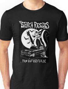Skunk in a 1959 Cadillac Hearse Ed Roth inspired Unisex T-Shirt