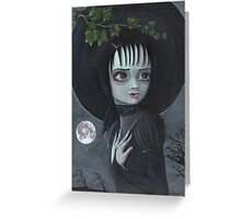 Her Name Was Lydia - Halloween  Greeting Card